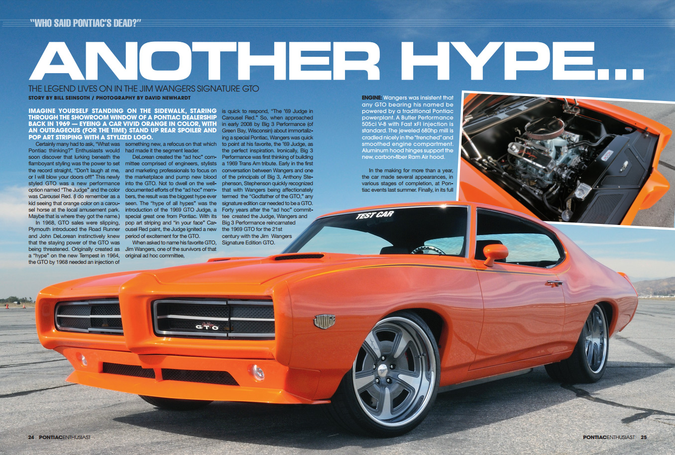 1970 Pontiac Firebird Transam Gave It The Power To Match Its Sleek