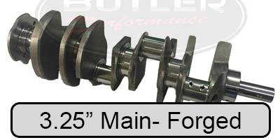 "Crankshafts - 3.25"" Main- Forged Crankshafts for 421/428/455 Blocks"
