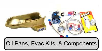 Engine Components- External - Oil Pans, Dip Sticks, Tubes & Oil Accessories