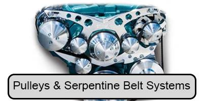 Engine Components- External - Pulleys & Serpentine Belt Systems