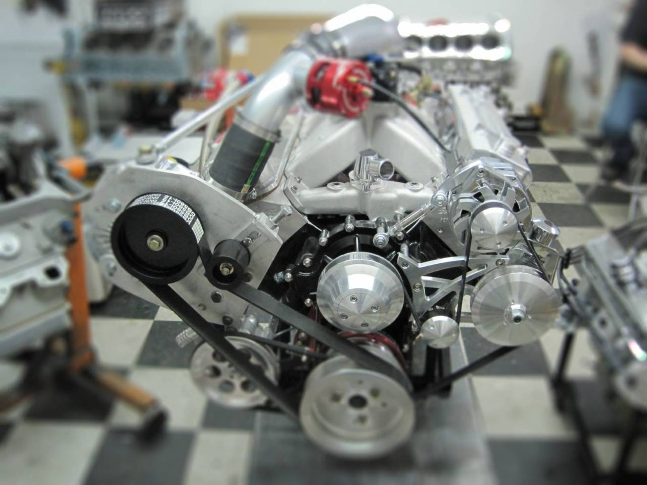 Engines 1966 Chevy Nova Which Froze With An Alternatorwiring 800 Hp Procharged Pontiac