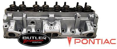 Cylinder Heads - Pontiac Cast Iron Cylinder Heads