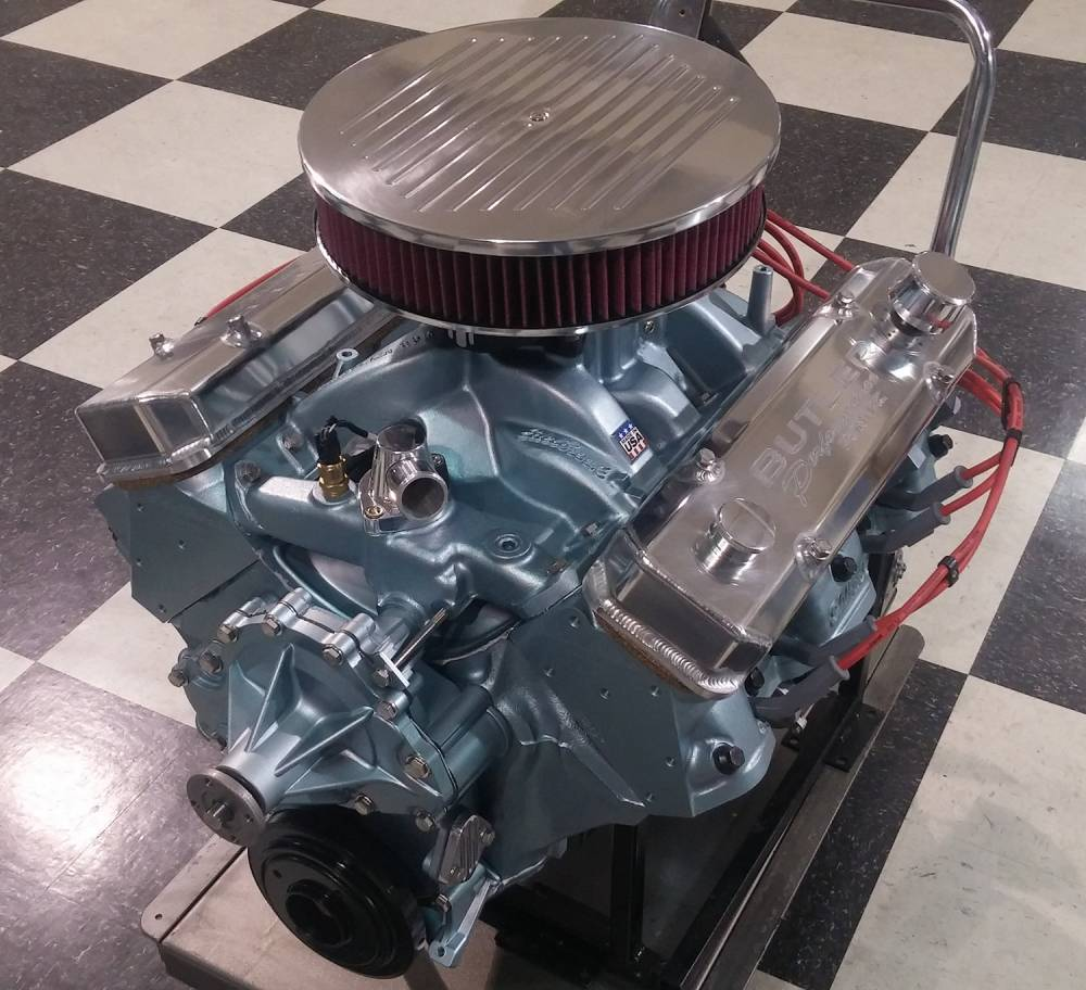 F on Chevy Performance Crate Engines