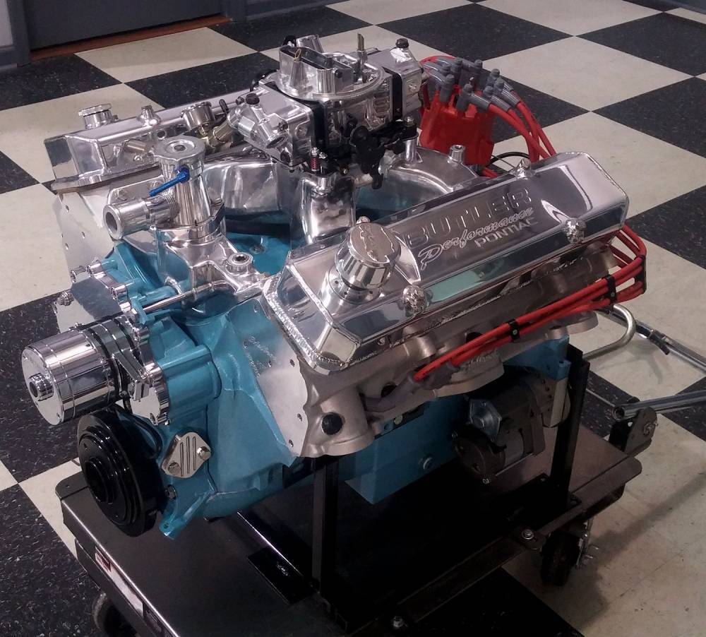Butler Performance - BP Crate Engine 461-501 cu. in. Long ...