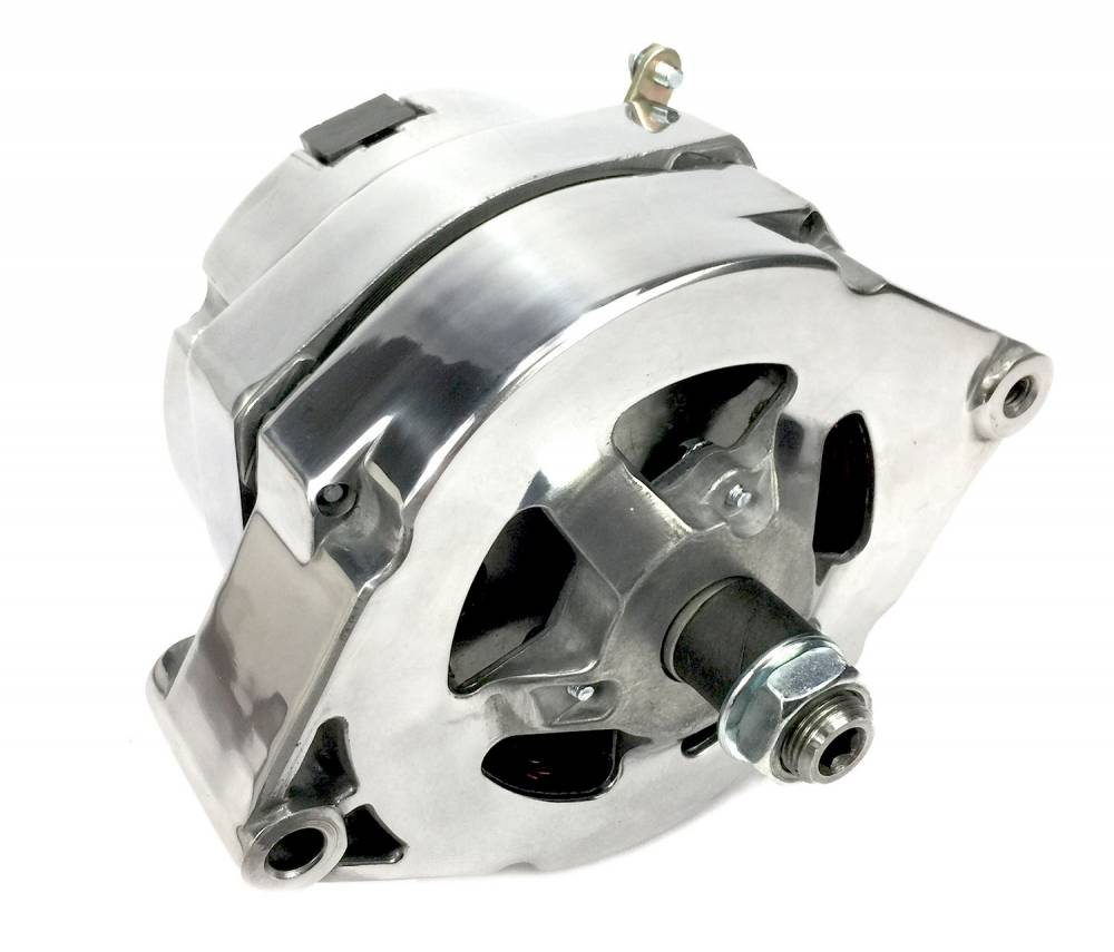 March GM 10SI 140 amp 1 wire Polished Alternator MAR-P551