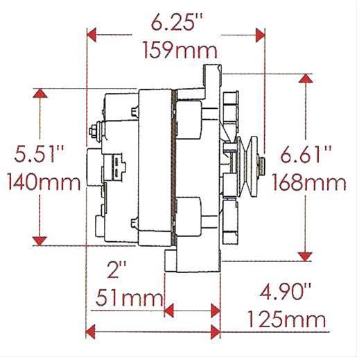 Denso 14870 Alternator Wiring Diagram: Powermaster Alternator Wiring Diagram   Nilza net,