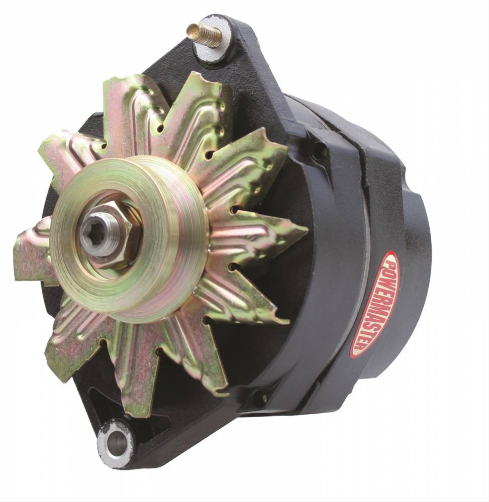 Power Master - Powermaster GM 12SI 140 amp 1 wire Black Alternator POW-57293