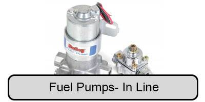 Fuel Pumps- EFI, Carbureted, Mechanical, & Retro-Fit - In-line Fuel Pumps (electric)