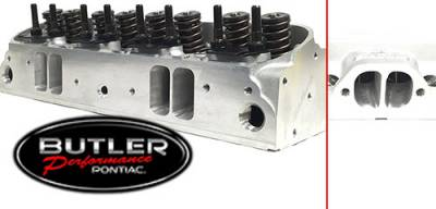 Cylinder Heads - BP/Edelbrock D-Port Ported Cylinder Heads