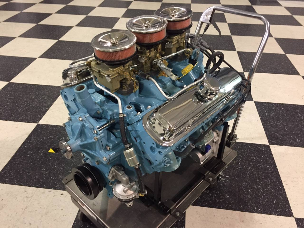 So here it is, a beautifully restored Pontiac Tri-Power that is leaps and  bounds above what came off the assembly line.