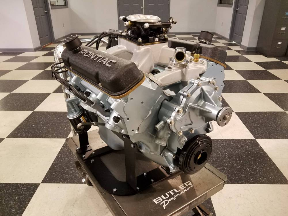 Butler Pontiac Performance Crate Engine 461-474 cu  in  Turn Key