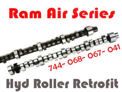 Camshafts & Cam Kits - Ram Air Series Cam and Cam Kits by Butler