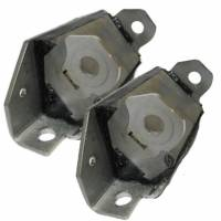 Butler Performance - Butler Performance Pontiac Polyurethane/Stainless Steel Interlocking Engine Mount, 64-72 GTO, Set BPI-2255-6P