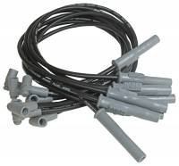 MSD Performance - MSD Black 8.5mm Super Conductor Spark Plug Wire -Custom Fitted, HEI, Set-8 MSD-31363
