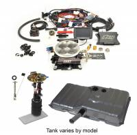 Butler Performance - Butler Performance Complete EFI Solution Kit w/ FAST EFI 1.0, EFI Ready Fuel Tank w/Complete In-Tank Fuel System