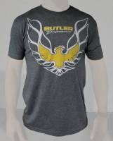 Butler Performance - Pontiac Trans Am T-Shirt, Grey, Small-4XL BPI-TS-BP1615