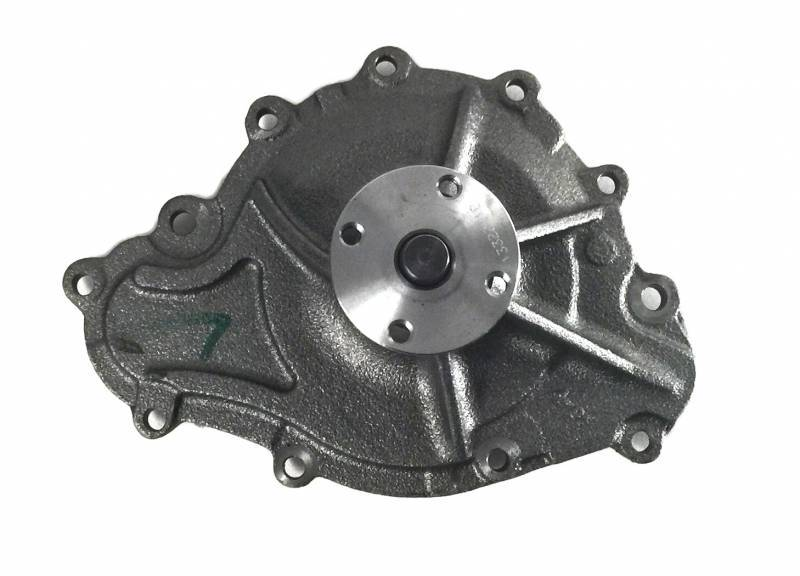 "Butler Performance - Cardone Pontiac 1969 1/2 & Up 11 Bolt Water Pump- Cast Iron 4.5"" AOC-58-303"