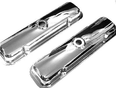 Butler Performance - Pontiac 67-72 Stock Chrome Valve Covers (Set) AAU-N222