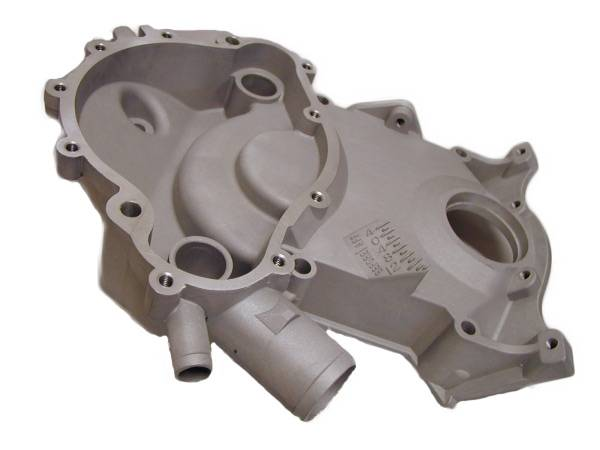 Butler Performance - Butler Pontiac Timing cover-11 Bolt 350-455 1969-79 AAU-N538