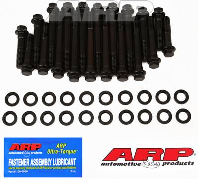 ARP - ARP Pontiac Round Port Head Bolt Kit for Edel RPM Early Style Heads / Manufactured Before 3-15-02 (Set) ARP190-3604