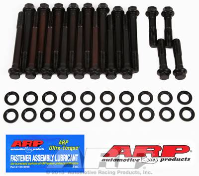ARP - ARP Pontiac Round Port Head Bolt Kit for Edelbrock Heads /Perf. RPM (Made after 3-15-02) /KRE D-Port ARP-190-3605
