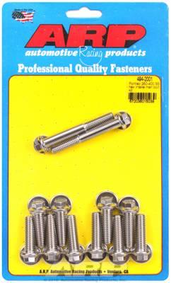 "ARP - ARP 3/8"" HexHead Stainless Steel Intake Manifold Bolt Kit for Pontiac 350-400 ARP-494-2001"