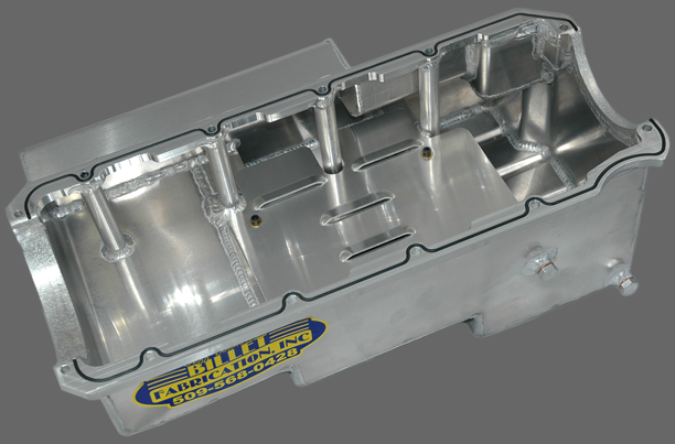 Billet Fabrication - Billet Fabrications 1 Piece Aluminum Racing Oil Pan BFA-OP1