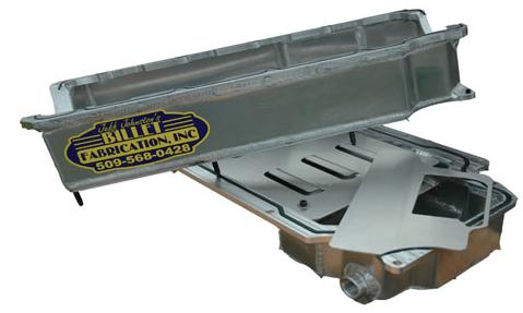 Billet Fabrication - Billet Fabrications 2 Piece Aluminum Racing Oil PanBFA-OP2