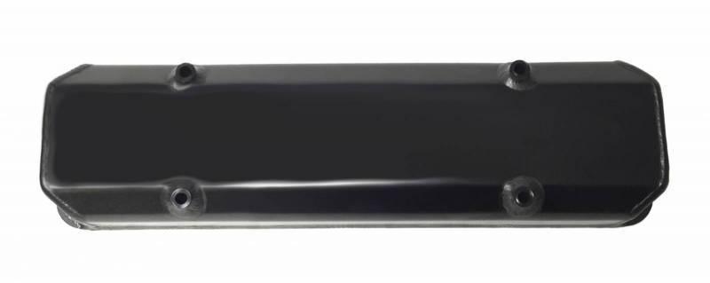 "Butler Performance - Butler Performance ""Plain-No engraving"" Short (2 3/4) Black Fab Aluminum Valve Covers (Set) BFA-SVC3-BA"