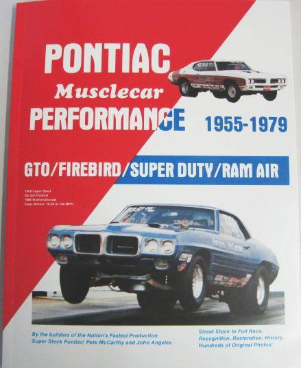 Butler Performance - Pontiac Musclecar Performance Book by Pete McCarthy BPI-PMP