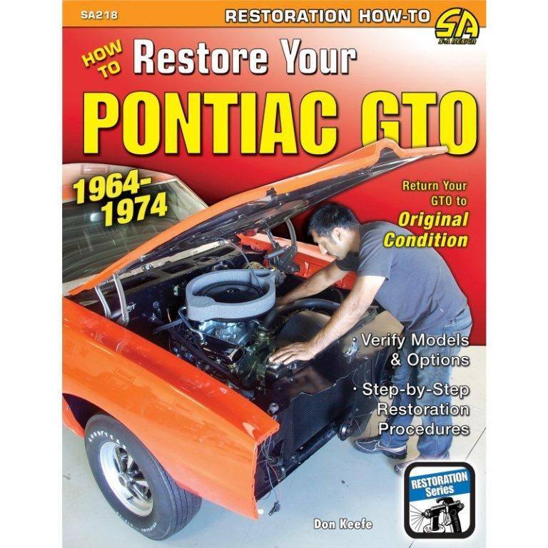 Butler Performance - Pontiac Book- How To Restore Your 1964-1974 Pontiac GTO by Don Keefe BPI-SA218
