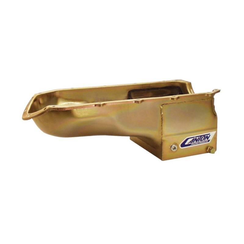 Canton Racing Products - Canton Pontiac Road Race/Drag Race Oil Pan CAN-15-452