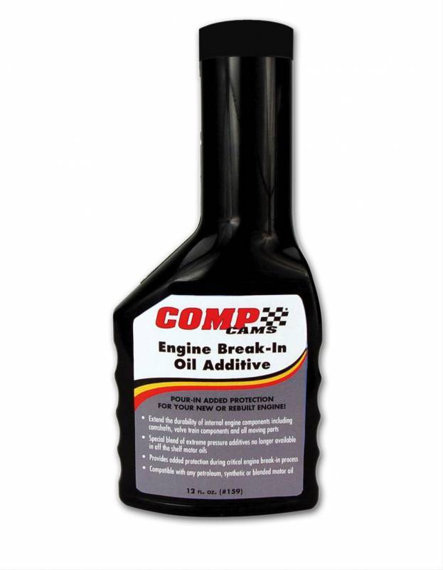 Comp Cams - Comp Cams Engine Break-In Lubricant/Oil Additive, 12 oz CCA-159