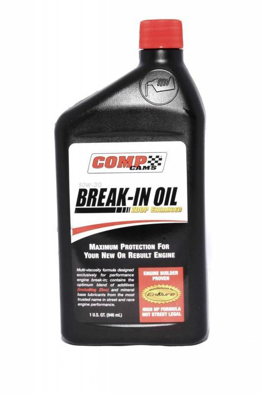Comp Cams - Comp Cams Engine Break-In Oil, 10w-30, Single Quart CCA-1590-1