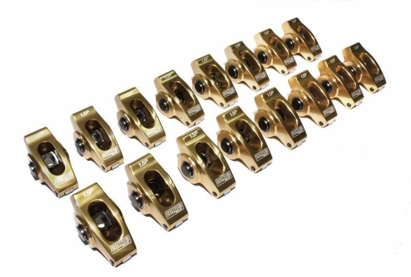 Comp Cams - Comp Cams Pontiac Ultra Gold 1.5  7/16 Aluminum Rocker Arm Set CCA-19060