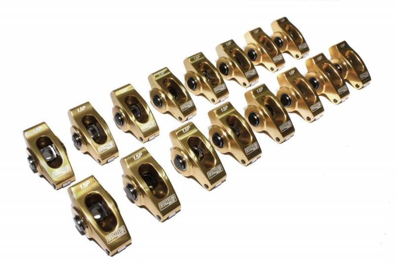 Comp Cams - Comp Cams Pontiac Ultra Gold 1.65 7/16 Aluminum Rocker Arm Set CCA-19061