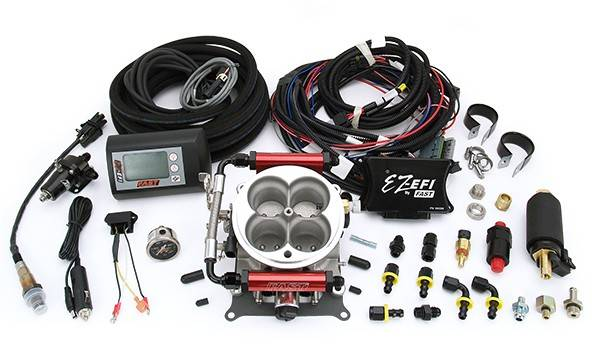 F.A.S.T. - FAST EZ-EFI® Self Tuning Fuel Injection System Master Kit w/ In-Tank Fuel Pump Kit FAS-30447-KIT