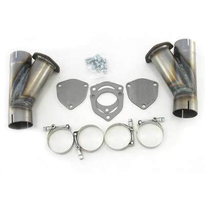 Doug's Headers - Dougs Headers Y-Pipe Exhaust Cutouts DHE-H1130