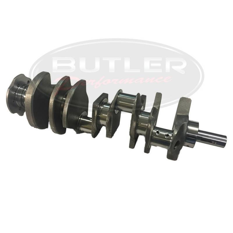 "Eagle Specialty - Eagle 4340 Forged Crankshaft, 4.350"" Stroke, 3.00"" main, 389-400 Block, 2.220"" BBC RJ"