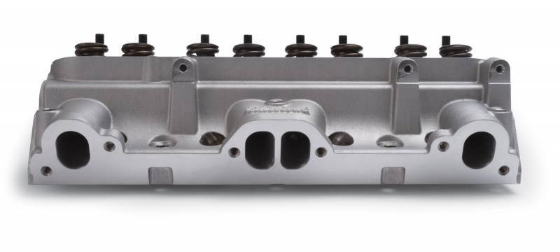 Edelbrock 61579 Performer 87cc Pontiac Cylinder Head with Complete D-Port Exhaust