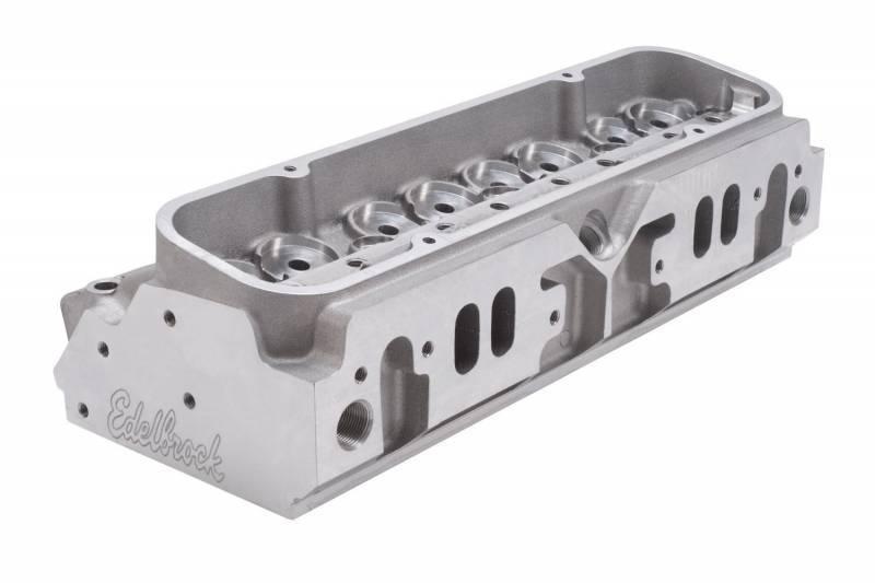 Edelbrock - Edelbrock Pontiac 12.6 Degree Valve Angle Victor Bare Pro Port Cylinder Heads *PUSHROD DELETE* (Pair)  EDL-77839-2