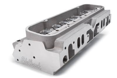 Edelbrock - Edelbrock Pontiac 11 Degree Valve Angle Victor Bare Pro Port Cylinder Heads *PUSHROD DELETE* (Pair) EDL-77849-2