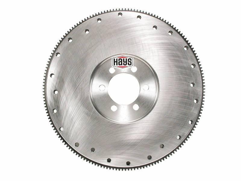 "Hays - HaysNeutral (Internal) BalancedPontiac 30 lb Steel Flywheel - 2.75 Register Bore / for 10.4 or 11"" Clutches HAY-13-130"