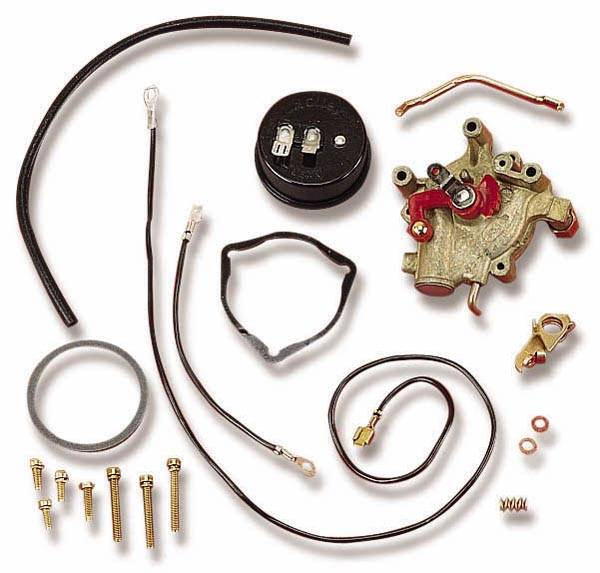 Holley - Holley Electric Choke Kit- External Vacuum for Holley Carbs