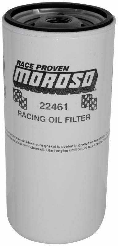 Moroso - Moroso Oil Filter, 13/16 in.-16 Thread, (Tall 2 Quart Style) MOR-22461