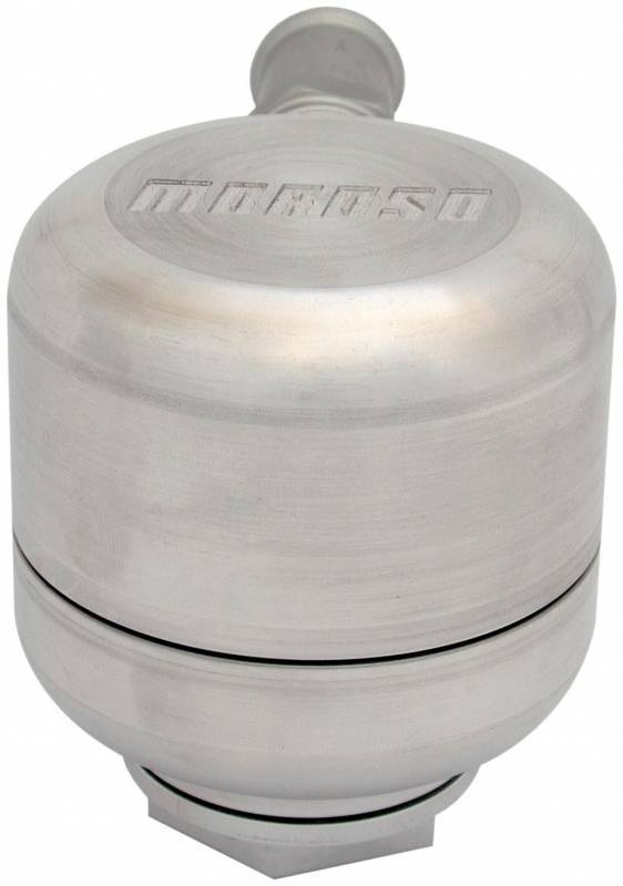 Moroso - Moroso Positive Locking Billet Aluminum Filtered Breather MOR-68788