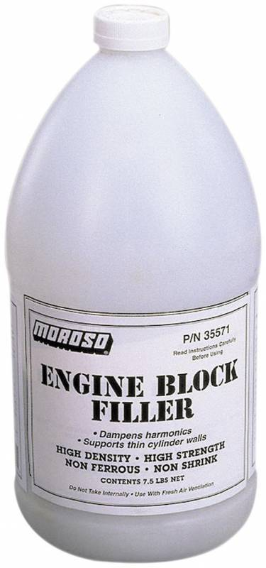 Moroso - Moroso Block Filler, Gallon, Each MOR35571