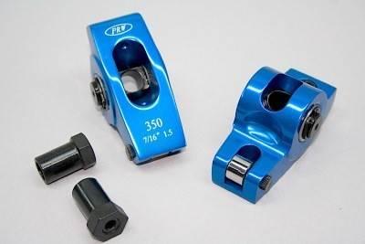 PRW - PRW Pontiac 1.65 Ratio Aluminum Roller Rocker Set PRW-0345502-16