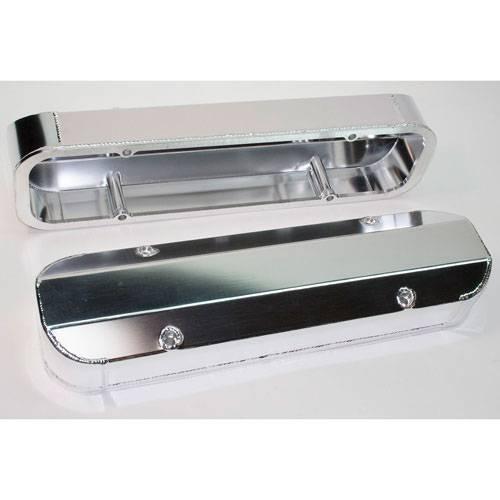 PRW - PRW Pontiac Aluminum Valve Covers- Polished / 3 ¼ Tall(Set)PRW-4045511