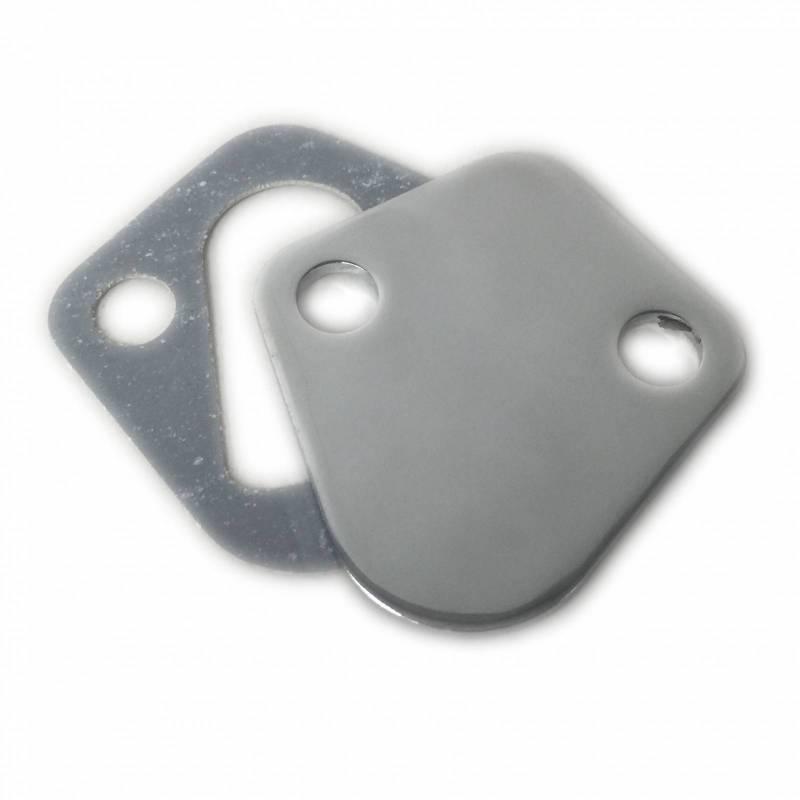 RPC - RPC Chrome Fuel Pump Block Off Plate RPC-S2058
